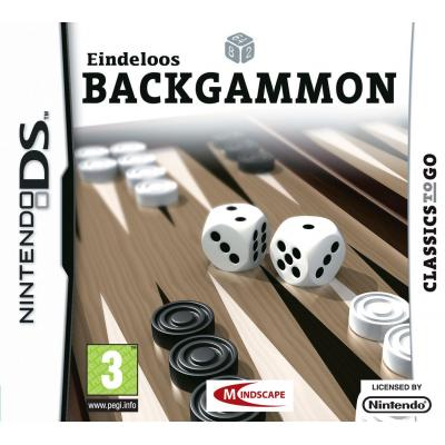Mindscape game: Eindeloos Backgammon  NDS