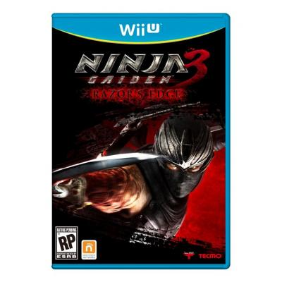 Nintendo game: Ninja Gaiden 3 Razor`s Edge
