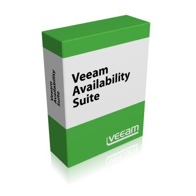 Veeam Availability Suite Standard Edition for VMware, MNT, 1Y Software licentie
