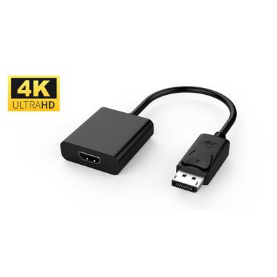 Microconnect Displayport - HDMI M-F - Zwart