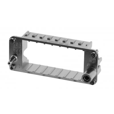 Amphenol Frame for 5-pin modules, Size E16 Multipolaire connector-behuizing - Metallic