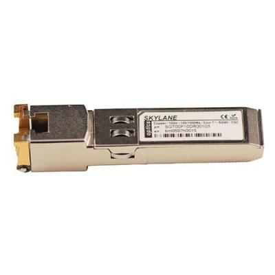 Skylane Optics SFP+ copper transceiver module gecodeerd voor Synology Netwerk tranceiver module - Goud