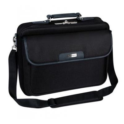 Targus laptoptas: 15.4 – 16 Inch / 39.1 - 40.6cm Notepac Laptop Case - Zwart