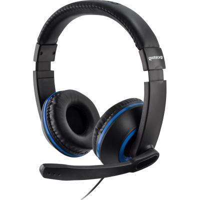 Gioteck game assecoire: Gioteck, XH-100 Wired Stereo Headset (Black / Blue)  PS4