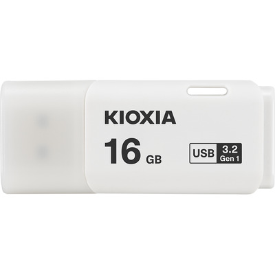 Kioxia TransMemory U301 USB flash drive - Wit