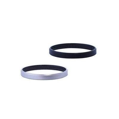 Olympus lens adapter: DR-49 - Zwart, Zilver