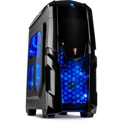 Inter-Tech Q2 Illuminator Behuizing - Zwart