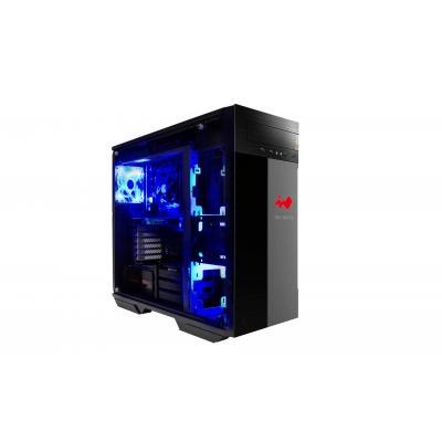 In Win 509 BLACK/RED behuizing