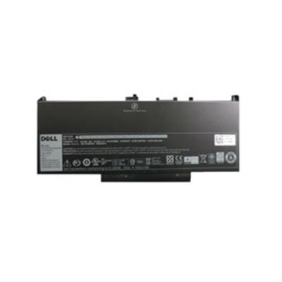 DELL 55W/u 4cel Primaire Lithium-Ion batterij Notebook reserve-onderdeel - Zwart