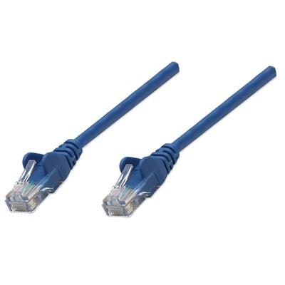 Intellinet 0.45m Cat5e Netwerkkabel - Blauw
