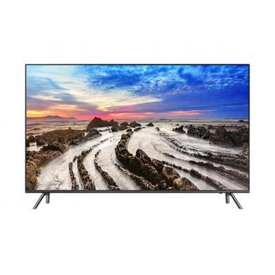 Samsung led-tv: MU7040 - Zwart, Titanium