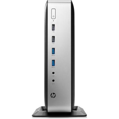 HP t730 thin client - Zwart, Zilver
