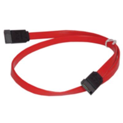 Microconnect 0.3m SATA ATA kabel - Rood