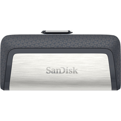 Sandisk Ultra Dual Drive USB Type-C USB flash drive - Zwart, Zilver