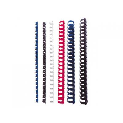Staples inbindkit: Bindrug SPLS 6mm 21r blauw/ds 100
