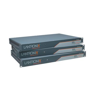 Lantronix EDS00812N-01 8-Port Device Server - 8 x RJ-45 Seriele server - Grijs