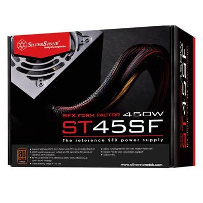 Silverstone ST45SF Power supply unit - Zwart