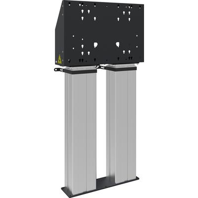 """SmartMetals Vrijstaande vloerlift, 98 """", 180 kg, wit TV standaard"""