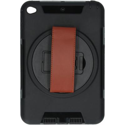 CP-CASES Defender Backcover met strap iPad Mini (2019) / iPad Mini 4 - Zwart / Black Tablet case