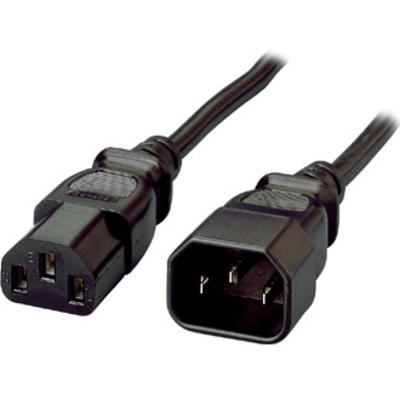 Equip Power Cord, C13 to C14, 1.8m Electriciteitssnoer - Zwart