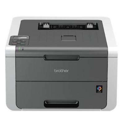 Brother laserprinter: HL-3140CW - Zwart, Cyaan, Magenta, Geel