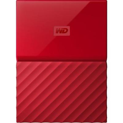 Western digital externe harde schijf: My Passport 4TB - Rood