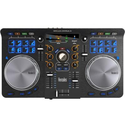 Hercules dj mixer: Universal DJ - Grijs