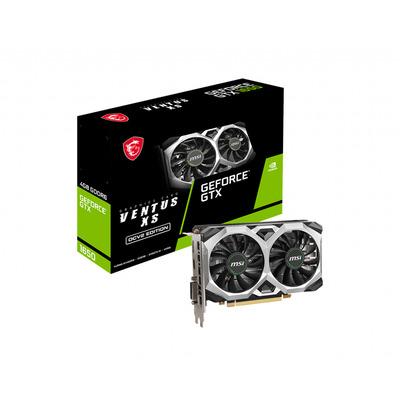 MSI GeForce GTX 1650 D6 Ventus XS OCV2 Videokaart - Zwart,Grijs