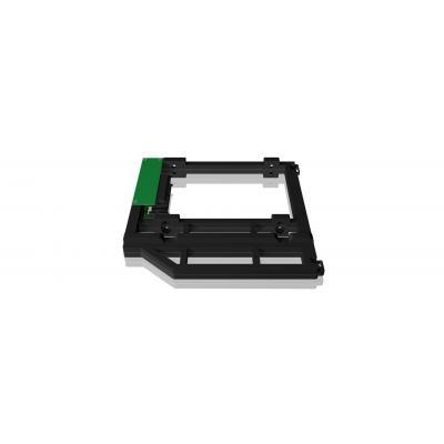 Icy box notebook reserve-onderdeel: IB-AC645 - Zwart