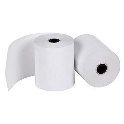 Star Micronics 20 x Thermal rolls: Paper width 57mm, diameter: 50mm, core size 12mm 60gsm Etiket - Wit