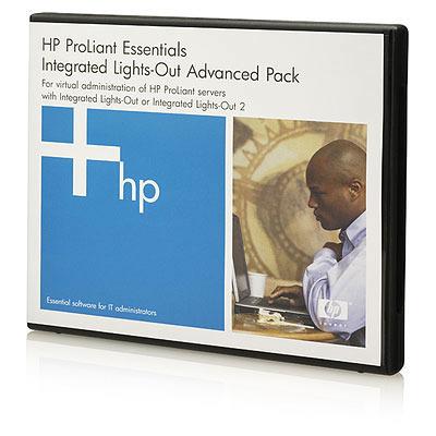 Hewlett packard enterprise garantie: iLO Advanced Electronic License, 3Y, 24x7