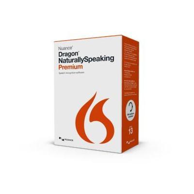 Nuance stemherkenningssofware: Dragon NaturallySpeaking Dragon NaturallySpeaking 13 Premium