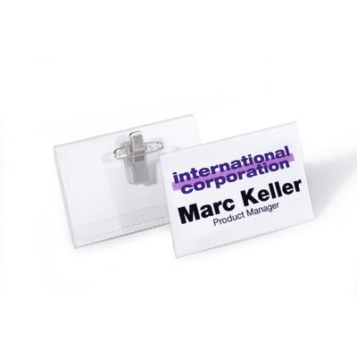 Durable 815719 Badge - Transparant