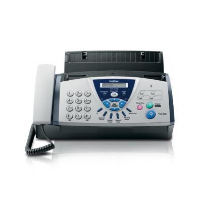 Brother faxmachine: Fax met handsfree telefoon en antwoordapparaat - Zwart