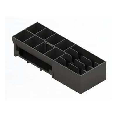 Apg cash drawer geldkistlade: Insert for Micro – A Compact Short Opening Cash Drawer - Zwart
