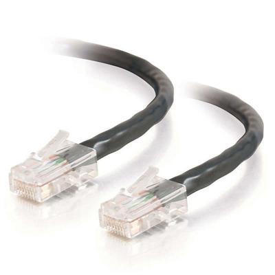 C2G RJ-45/RJ-45, M/M, 5m, Cat5e, UTP, Black Netwerkkabel - Zwart