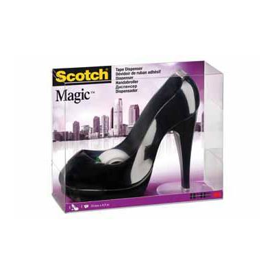 Scotch plakband: STILETTO ZW + ROL MAGIC TAPE