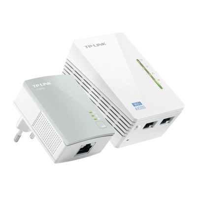 TP-LINK powerline adapter: 300 Mbps AV500 Wi-Fi Powerline extender startset