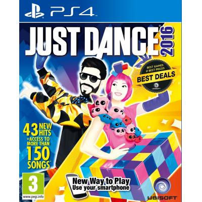 Ubisoft game: Just Dance 2016  PS4