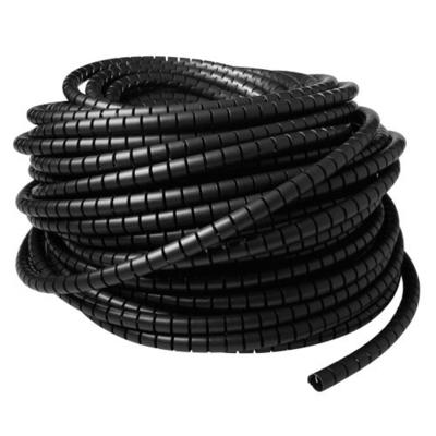ACT 15 mm spiraalband, lengte 50 meter Kabel beschermer - Zwart
