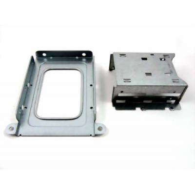 """Supermicro Dual 2.5"""" Fixed HDD Tray Computerkast onderdeel - Geborsteld staal"""