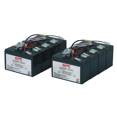 APC Originele Batterij Vervangings Cartridge RBC12 UPS batterij - Zwart