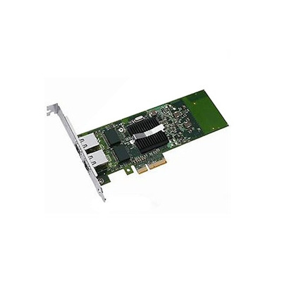 Dell netwerkkaart: Intel i350 Dual poort Gigabit Serveradapter Ethernet PCIe- netwerkinterfacekaart Low Profile - Groen