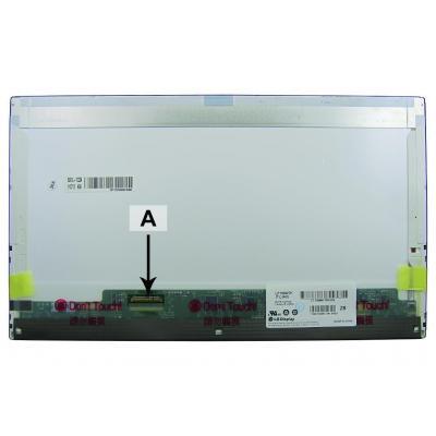 """2-power laptop accessoire: 39.624 cm (15.6 """") HD+ 1600x900 LED Matte Screen"""