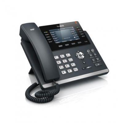 Yealink ip telefoon: SIP-T46G - Zwart