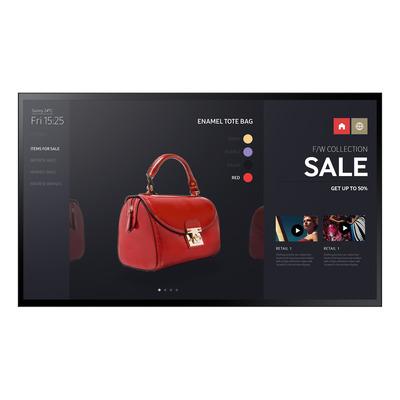 Samsung Full HD Interactive Display PMF-BC 55 inch Public display - Zwart