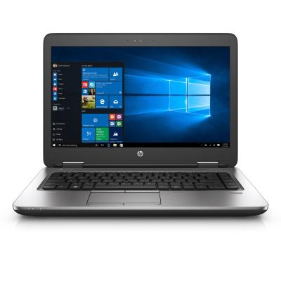 HP laptop: ProBook ProBook 645 G3 Notebook PC - Zwart, Zilver (Demo model)
