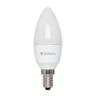 Verbatim led lamp: LED Candle, Frosted, E14, 4.5W
