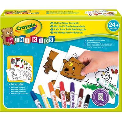 Crayola : Mini Kids - Stickerpuzzel set - Multi kleuren