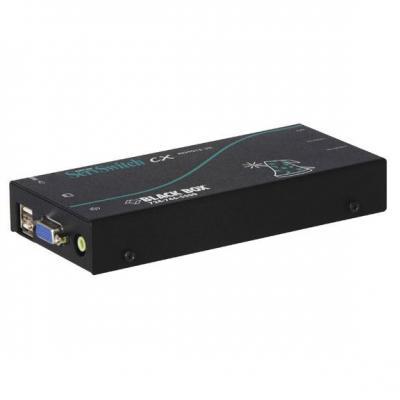 Black box console extender: ServSwitch CX Uno USB Remote Access Module, 300m, black - Zwart
